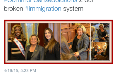 Tweet From Ileana Ros-Lehtinen's Office About Maithe Gonzalez Immigration Lawyer