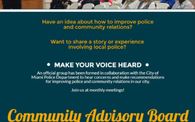 Community Advisory Board Miami March 2017